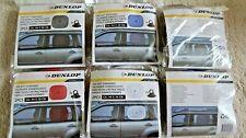 2 x Car Kids Sun Shade Shield DUNLOP Rear Side Window - White Red Blue or Black
