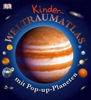 Kinder-Weltraumatlas mit Pop-up-Planeten (gebunden)