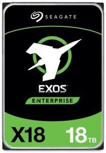 "Seagate Exos X18 ST18000NM000J  interne 3.5"" 18.0 TB Festplatte SATA3 (max.6 ..."