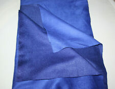 MICRO FIBER SYNTHETIC SUEDE FABRIC 1.40 CM X 90 CM BLUE
