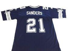 Deion Sanders Jersey 1990s NFL Football Dallas Cowboys Jersey Starter L 14-16