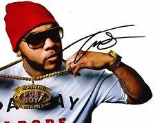 Flo Rida Autographed 8x10 Photo (Reproduction) 3