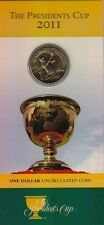 """**2011 Australian """"The President Cup""""  $1 coin UNC **"""