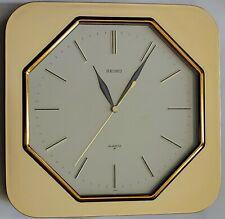Seiko quartz wall clock with strike on the hour