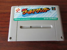Jikkyou World Soccer Perfect Eleven    - SHVC-3U   -- pour SUPER FAMICOM  / JAP.