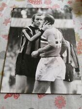 INTERNAZIONALE FC, MARIO CORSO & LUIS SUAREZ, 1971, ORIGINAL PHOTO