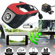 Wifi Hidden HD 1080P Car DVR Camera Video Recorder Dash Cam Dual Lens G-sensor