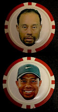 TIGER WOODS FUNNY POKER CHIP - BALL MARKER ***FREE S/H***