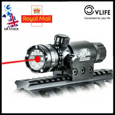 Red Laser Sight for Rifle Gun Hunting +2 Rail Mounts Tactical