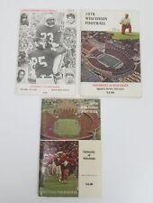 (Lot 3) 1977, 78, 79 University Of Wisconsin Badger Football Media Guides