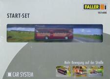 """Faller 161498 H0 - CAR- SYSTEM Start-Set MB O317-K Bus """"Jägermeister"""" NEU & OvP"""