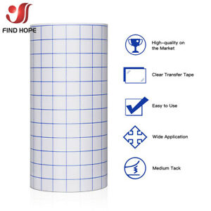 Clear Vinyl Applicatio Tape for Car Wall Craft Art Decal Transfer Paper Adhesive