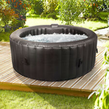 Wido ROUND INFLATABLE SPA HOT TUB 300 AIR JETS 4 PERSON QUICK HEATING JACUZZI