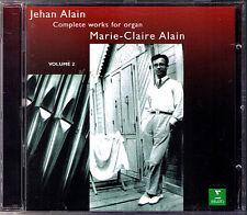 Marie-Claire ALAIN: Jehan ALAIN Organ Trois danses Lamento Ballade Intermezzo CD