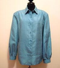 EMILIO PUCCI VINTAGE '60 Camicia Donna Seta Silk Woman Shirt Sz.XL - 48