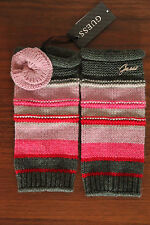 NEUF GUESS Mitaines poignet tricot gants taille M (45)