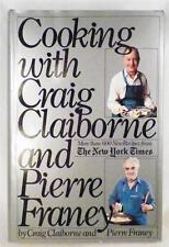 Cooking With Craig Claiborne & Pierre Franey Cookbook 1983 600 Reciopes NY Times