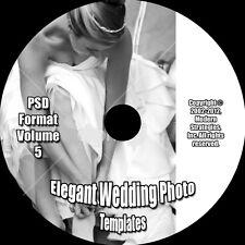 ELEGANT WEDDING PHOTO ALBUM PSD TEMPLATES Photoshop V.5 *