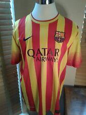 FC BARCELONA 2013/2014 NIKE AWAY SOCCER JERSEY CAMISETA XL   P10714
