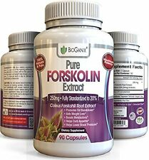 Forskolin 100% Pure Extract 250mg *Maximum Strength Belly Buster* (90 Capsules)