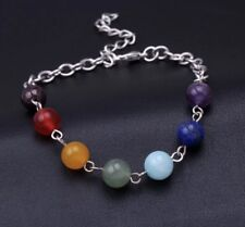 New Women's Fashion Jewelry 7 Color Natural Stone Beaded Bracelet 29-10