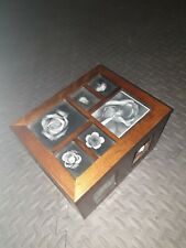 Wooden Photo Box With Pull-out Sleeves