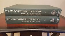 Annotated Sherlock Holmes Arthur Conan Doyle William Baring-Gould (2 VOLUME SET)