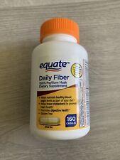 Equate Daily Fiber 160 Capsules
