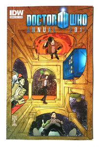 Doctor Who Annual 2011 IDW Comic Matthew Dow Smith Joshua Hale Fialkov
