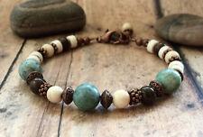 Bohemian Bracelet, Boho Healing Bracelet, Yoga Jewelry Mala Bracelet.