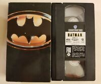 Batman DC WARNER BROTHERS VHS 1997 FREE SHIPPING