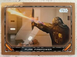2020 Star Wars The Mandalorian Bronze Pure Firepower 40/50