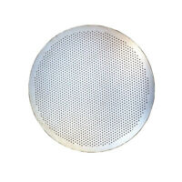 Round Fine Metal Filter Reusable Stainless Mesh For Aeropress Coffee Maker Drain