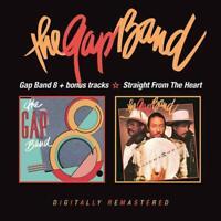 The Gap Band - Gap Band 8 + Bonus/Straight From The Heart (2CD)  NEW  SPEEDYPOST