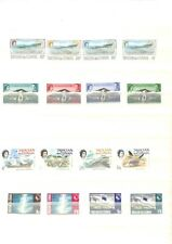 [OP9527] Tristan Da Cunha lot of stamps on 12 pages