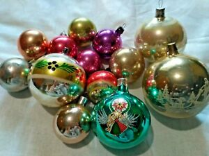 Vintage antique christmas tree christmas decorations ornament gdr germany 1900s
