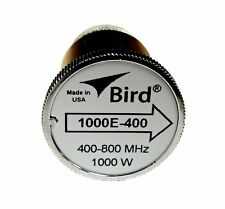 Bird 1000E-400 Thruline WattMeter Element 1000W 400-800 MHz, GENUINE BIRD