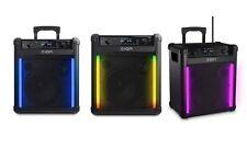 ION Block Rocker Max Bluetooth Speaker Black Parties Outdoor 100 Watts/ Channel