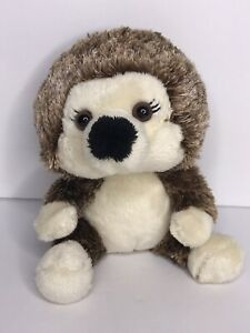 Build A Bear Brown Hedgehog Smallfry Mini Plush 7""
