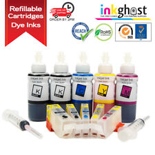 Inkghost Refillable Ink Cartridges for Canon CLI-521 PGI-520 MP630 MP640 MP620