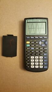 Texas Instruments TI-83 Plus Graphing Calculator (dark spots)