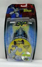 The Batman Animated Series EXP Mr Freeze with DVD Mattel NIP 4+ 5 inch S184-12
