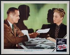 LADY IN THE LAKE ROBERT MONTGOMERY RAYMOND CHANDLER NOIR 1947 LOBBY CARD #3