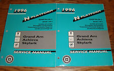 1996 Grand Am Achieva Buick Skylark Shop Service Manual Vol 1 2 Set 96