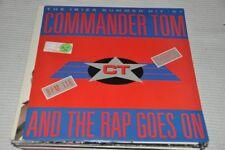 "Commander Tom - And the Rap goes on - Ibiza '87 - 80s - 12"" Maxi Single Vinyl LP"