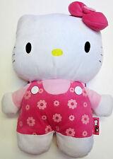 "NWOT Sanrio Hello Kitty Pink Backpack Plush Purse 15"" zipper Christmas"
