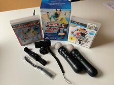 Playstation3 Move Motion SET Controller + Kamera + 2 Spiele !!! FAMILIENSPAß!!!