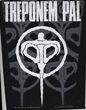 TREPONEM PAL 1990 vintage sew on BACK PATCH BACKPATCH  French  HEAVY METAL