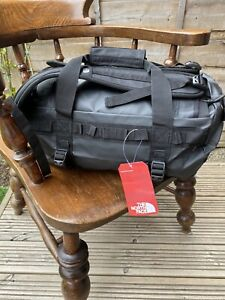 THE NORTH FACE BASE CAMP DUFFEL BAG EXTRA SMALL NEW WITH TAGS - BLACK