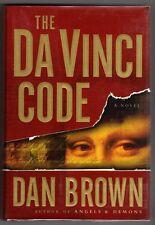 The Da Vinci Code by Dan Brown Signed 1st/1st- High Grade